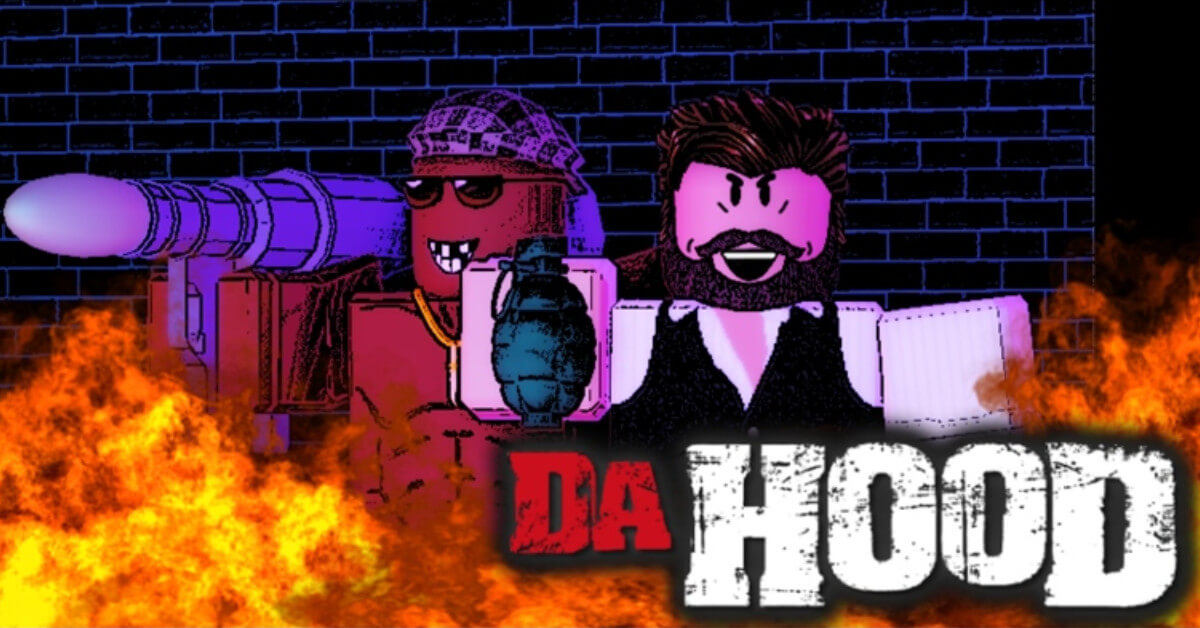 Roblox Da Hood GUI Script gameplay