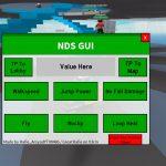 Natural Disaster Survival GUI Script
