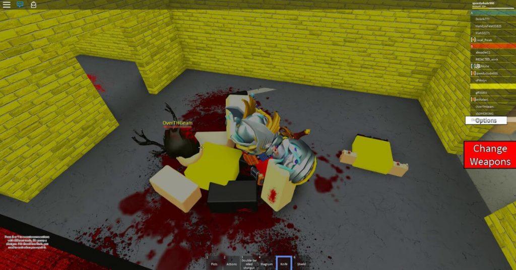 Roblox Neighborhood war GUI Script gameplay