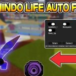 Roblox Shindo Life Auto Farm GUI Script gameplay