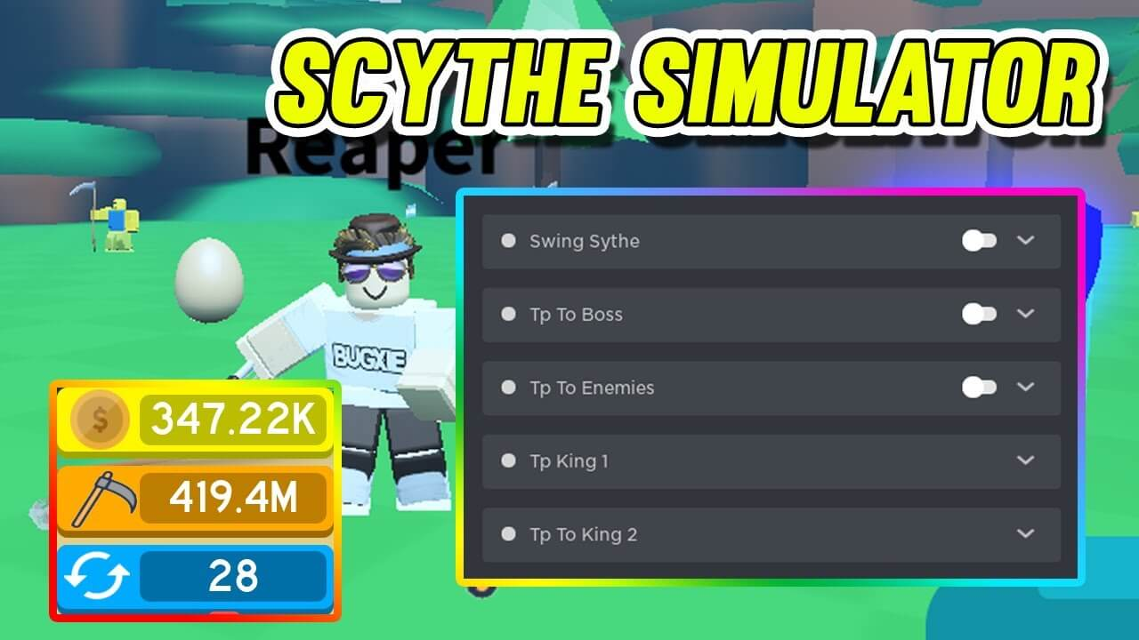 Roblox Scythe Simulator Script