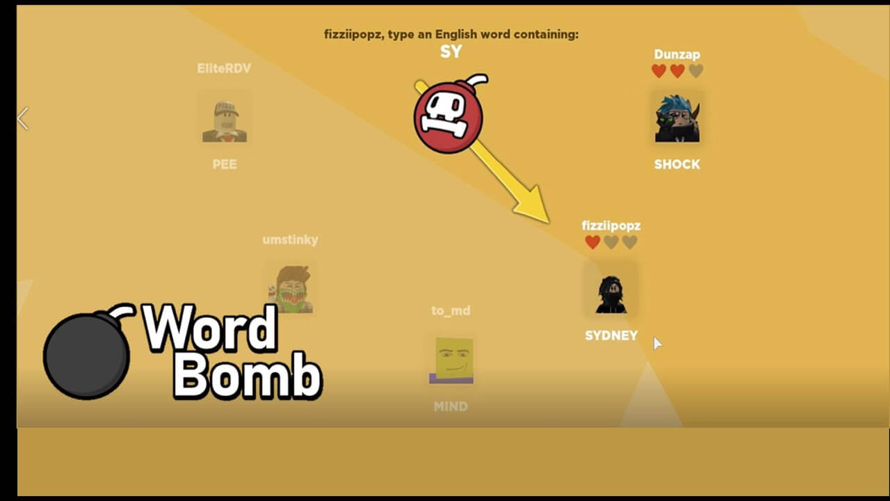 Roblox Word Bomb GUI Script