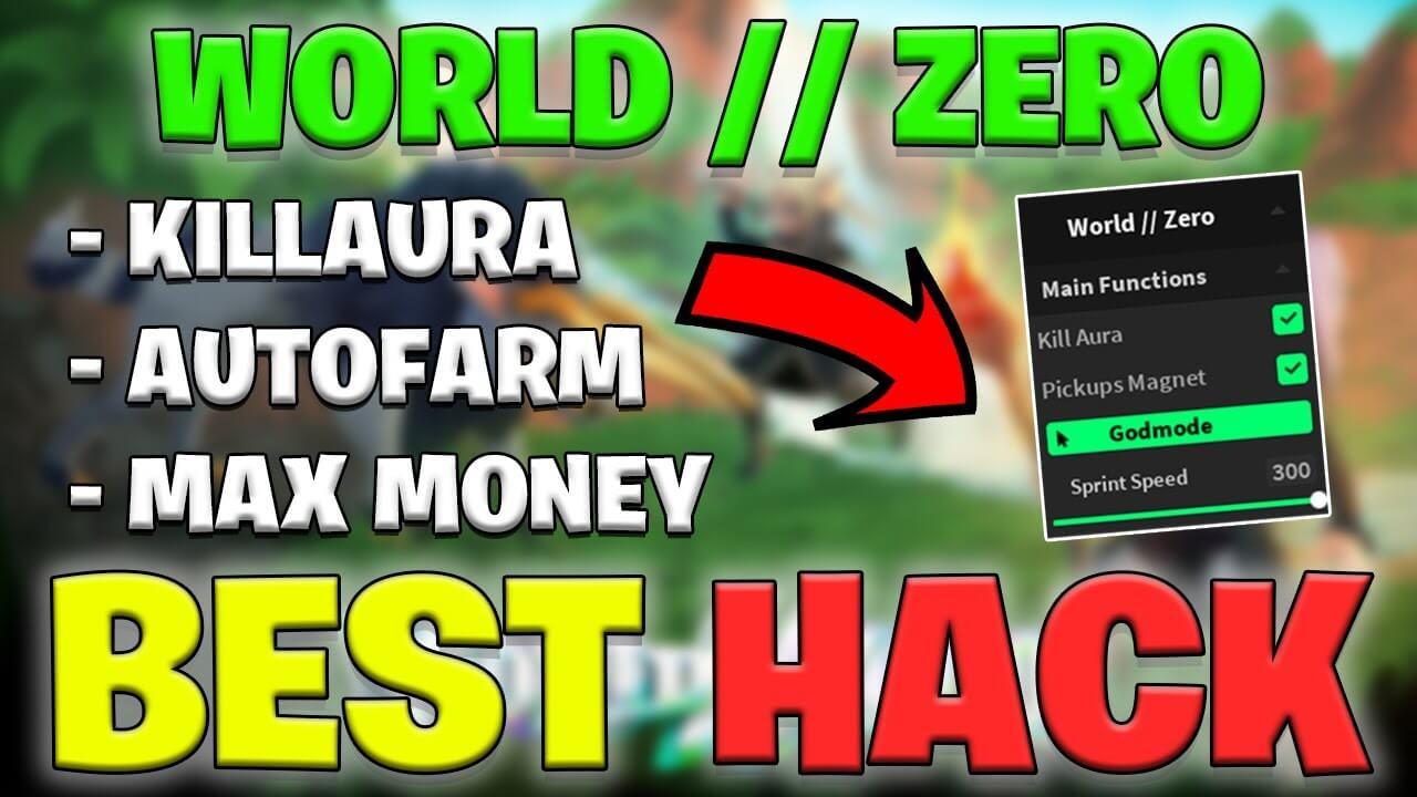 Roblox World Zero GUI hack